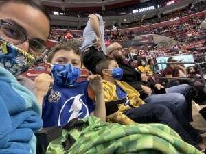 Selena Malone attended Florida Panthers vs. Tampa Bay Lightning - NHL Preseason on Oct 9th 2021 via VetTix