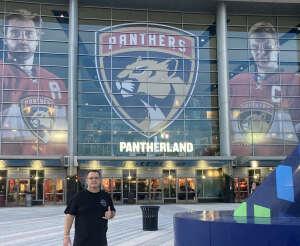 Keith attended Florida Panthers vs. Tampa Bay Lightning - NHL Preseason on Oct 9th 2021 via VetTix