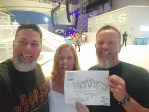 C&G attended Counting Crows: Butter Miracle Tour 2021 on Sep 23rd 2021 via VetTix