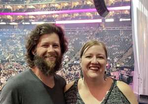 Chris attended Lauren Daigle on Sep 26th 2021 via VetTix