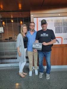 Cary attended Lauren Daigle on Sep 26th 2021 via VetTix