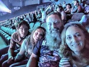 Joe attended Lauren Daigle on Sep 26th 2021 via VetTix