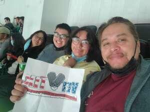 Chris P.      Army SPC attended Anaheim Ducks vs. Winnipeg Jets - Antis Community Corner on Oct 13th 2021 via VetTix