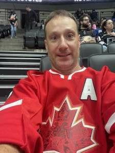 Kevin  attended Anaheim Ducks vs. Winnipeg Jets - Antis Community Corner on Oct 13th 2021 via VetTix