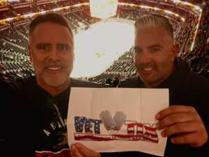 Michael S attended Anaheim Ducks vs. Winnipeg Jets - Antis Community Corner on Oct 13th 2021 via VetTix