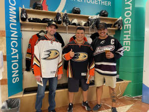 Jordan M attended Anaheim Ducks vs. Winnipeg Jets - Antis Community Corner on Oct 13th 2021 via VetTix