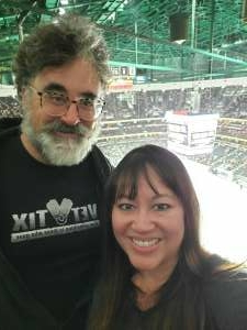 Larry  attended Anaheim Ducks vs. Winnipeg Jets - Antis Community Corner on Oct 13th 2021 via VetTix