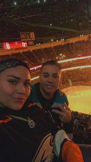 Tommy attended Anaheim Ducks vs. Winnipeg Jets - Antis Community Corner on Oct 13th 2021 via VetTix