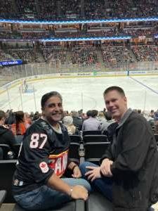 Rupinder Sekhon attended Anaheim Ducks vs. Winnipeg Jets - Antis Community Corner on Oct 13th 2021 via VetTix