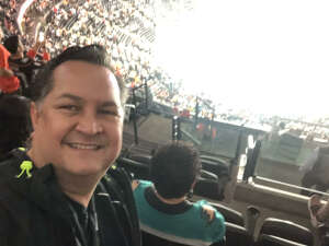 Grateful Soldier attended Anaheim Ducks vs. Winnipeg Jets - Antis Community Corner on Oct 13th 2021 via VetTix