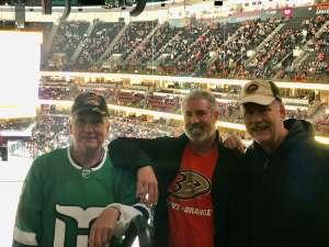 Stephen Cosman attended Anaheim Ducks vs. Winnipeg Jets - Antis Community Corner on Oct 13th 2021 via VetTix