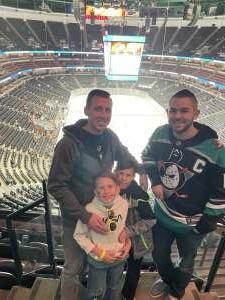 Brent attended Anaheim Ducks vs. Winnipeg Jets - Antis Community Corner on Oct 13th 2021 via VetTix