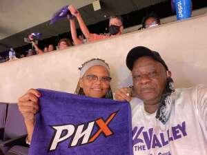Ronald attended WNBA Playoffs Round 1 Phoenix Mercury vs. New York Liberty on Sep 23rd 2021 via VetTix