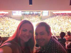 Amanda attended WNBA Playoffs Round 1 Phoenix Mercury vs. New York Liberty on Sep 23rd 2021 via VetTix
