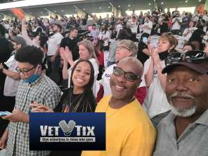 Doug Kendricks attended WNBA Playoffs Round 1 Phoenix Mercury vs. New York Liberty on Sep 23rd 2021 via VetTix