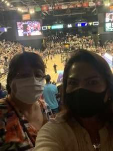 Janice attended WNBA Playoffs Round 1 Phoenix Mercury vs. New York Liberty on Sep 23rd 2021 via VetTix