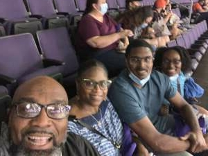Thomas Fitzgerald attended WNBA Playoffs Round 1 Phoenix Mercury vs. New York Liberty on Sep 23rd 2021 via VetTix