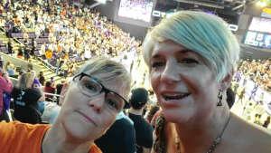 DW Small attended WNBA Playoffs Round 1 Phoenix Mercury vs. New York Liberty on Sep 23rd 2021 via VetTix