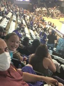 Steven O. attended WNBA Playoffs Round 1 Phoenix Mercury vs. New York Liberty on Sep 23rd 2021 via VetTix