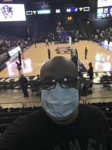 James Laney attended WNBA Playoffs Round 1 Phoenix Mercury vs. New York Liberty on Sep 23rd 2021 via VetTix