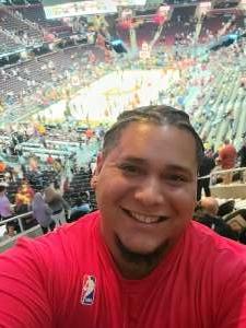 Elias attended Cleveland Cavaliers vs. Chicago Bulls - NBA on Oct 10th 2021 via VetTix