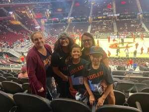 Andrea Johnson attended Cleveland Cavaliers vs. Chicago Bulls - NBA on Oct 10th 2021 via VetTix