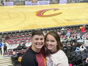 Nycole Carter attended Cleveland Cavaliers vs. Chicago Bulls - NBA on Oct 10th 2021 via VetTix