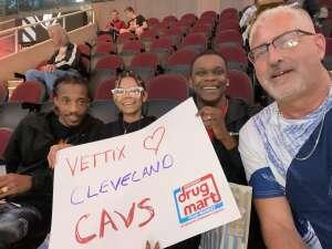 David S attended Cleveland Cavaliers vs. Chicago Bulls - NBA on Oct 10th 2021 via VetTix