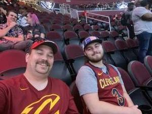 NateR attended Cleveland Cavaliers vs. Chicago Bulls - NBA on Oct 10th 2021 via VetTix