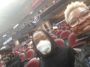 Theresa Freeman attended Cleveland Cavaliers vs. Chicago Bulls - NBA on Oct 10th 2021 via VetTix