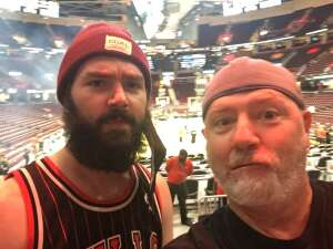 Cheryl Aubrey attended Cleveland Cavaliers vs. Chicago Bulls - NBA on Oct 10th 2021 via VetTix
