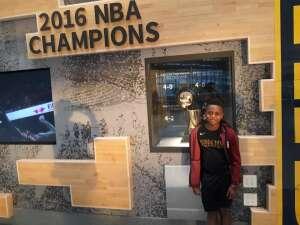 Tammie Ellerbe attended Cleveland Cavaliers vs. Chicago Bulls - NBA on Oct 10th 2021 via VetTix