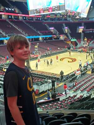 Wendy attended Cleveland Cavaliers vs. Chicago Bulls - NBA on Oct 10th 2021 via VetTix