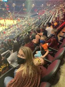 Greg attended Cleveland Cavaliers vs. Chicago Bulls - NBA on Oct 10th 2021 via VetTix