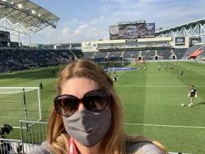 Michelle attended Philadelphia Union vs. Columbus - MLS on Oct 3rd 2021 via VetTix