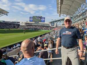 Michael Louise attended Philadelphia Union vs. Columbus - MLS on Oct 3rd 2021 via VetTix