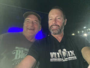 Bikerbrad attended Alice Cooper With Special Guest Ace Frehley on Oct 6th 2021 via VetTix