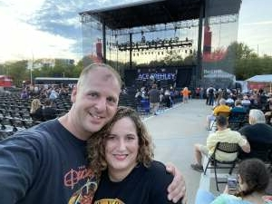 Chris attended Alice Cooper With Special Guest Ace Frehley on Oct 6th 2021 via VetTix