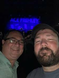 Steven  attended Alice Cooper With Special Guest Ace Frehley on Oct 6th 2021 via VetTix