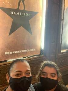 Dinora attended Hamilton (touring) on Sep 28th 2021 via VetTix