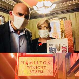 PAC-3MF attended Hamilton (touring) on Sep 28th 2021 via VetTix