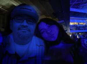 Anthony attended Maroon 5 on Oct 2nd 2021 via VetTix