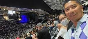Romeo attended Maroon 5 on Oct 2nd 2021 via VetTix