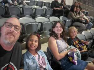 IS2(AW) Rick Pugh attended Maroon 5 on Oct 2nd 2021 via VetTix
