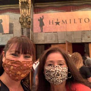 Tim & Taryn attended Hamilton (touring) on Oct 6th 2021 via VetTix