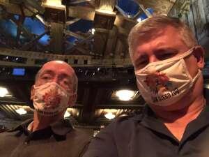 Jeffrey C attended Hamilton (touring) on Oct 6th 2021 via VetTix