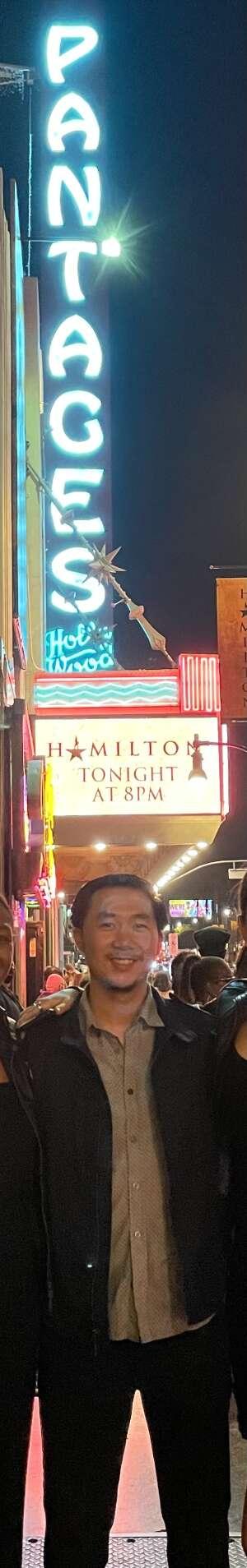 David attended Hamilton (touring) on Oct 6th 2021 via VetTix