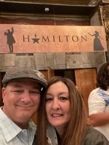 Keith attended Hamilton (touring) on Oct 6th 2021 via VetTix