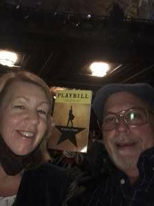 Charles attended Hamilton (touring) on Oct 6th 2021 via VetTix