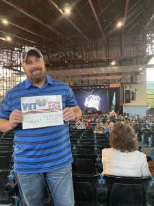 Jason attended Dierks Bentley - Beers on Me Tour 2021 on Oct 8th 2021 via VetTix
